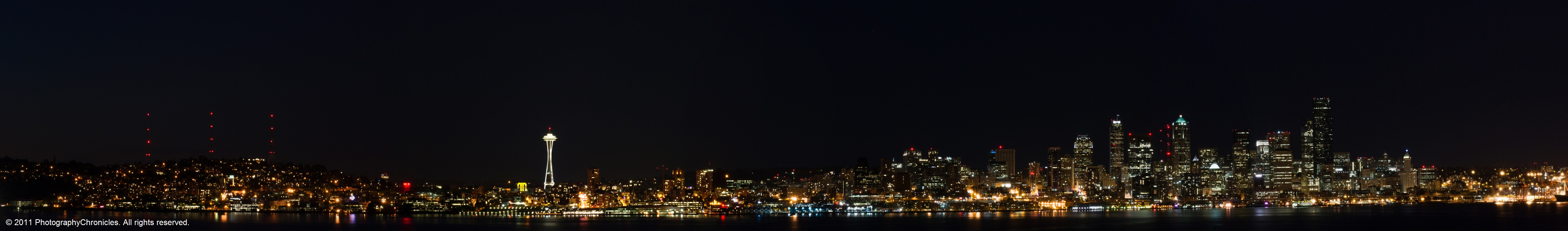city night skyline panorama - photo #22