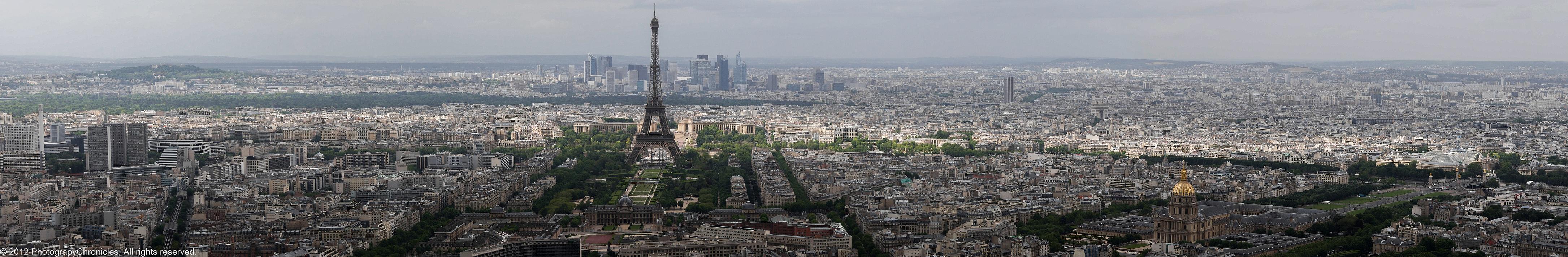 Paris Panoramic Tour