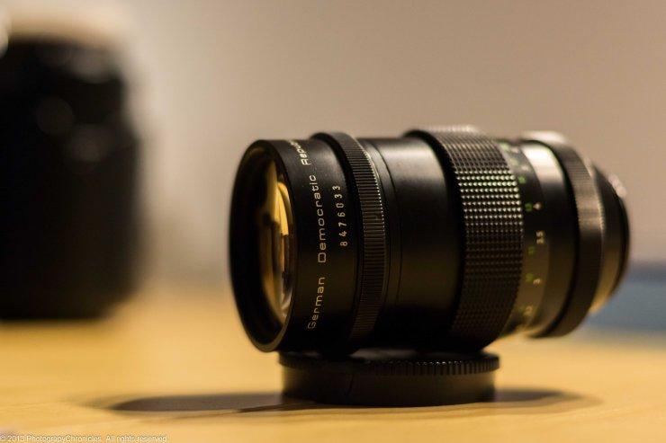 Pentacon 135mm f/2.8 Preset.