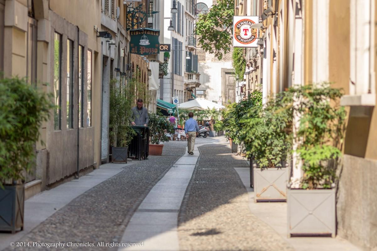 Through Milano Streets 1
