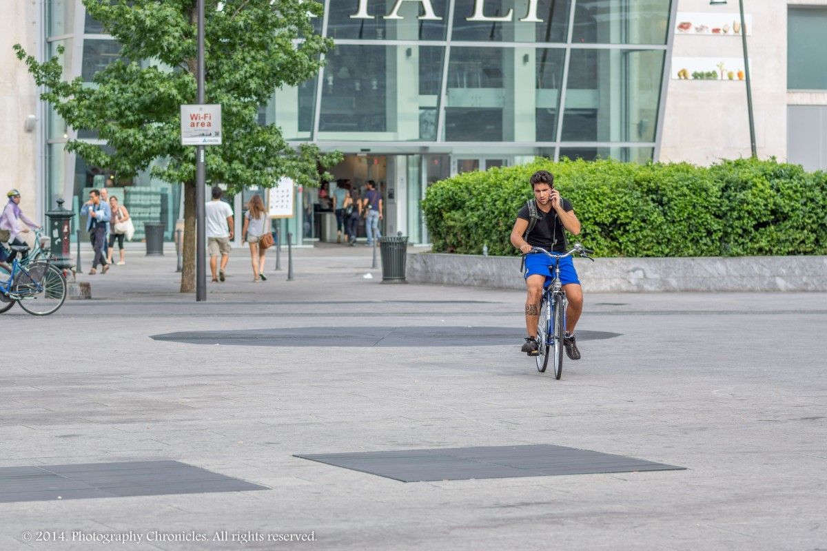 Bicycle in Milano 2