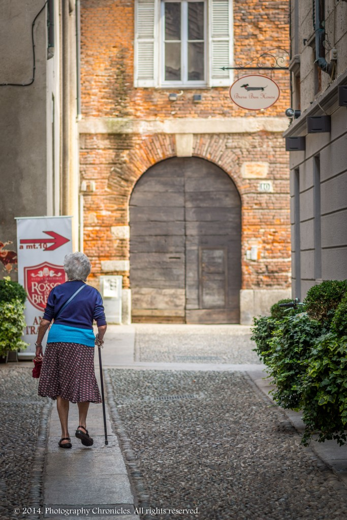 Old lady - Milano
