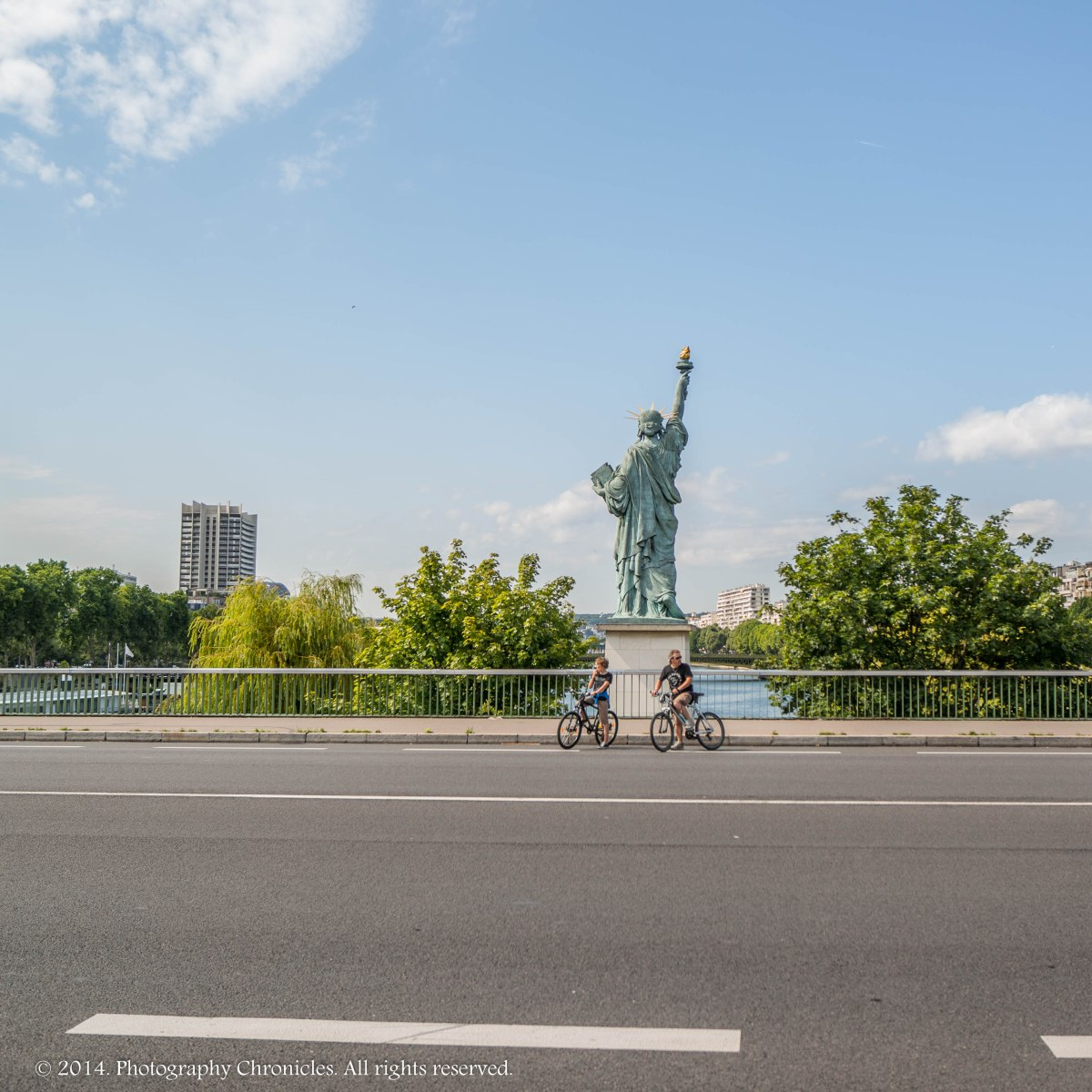 Statue of Liberty Paris variation 3
