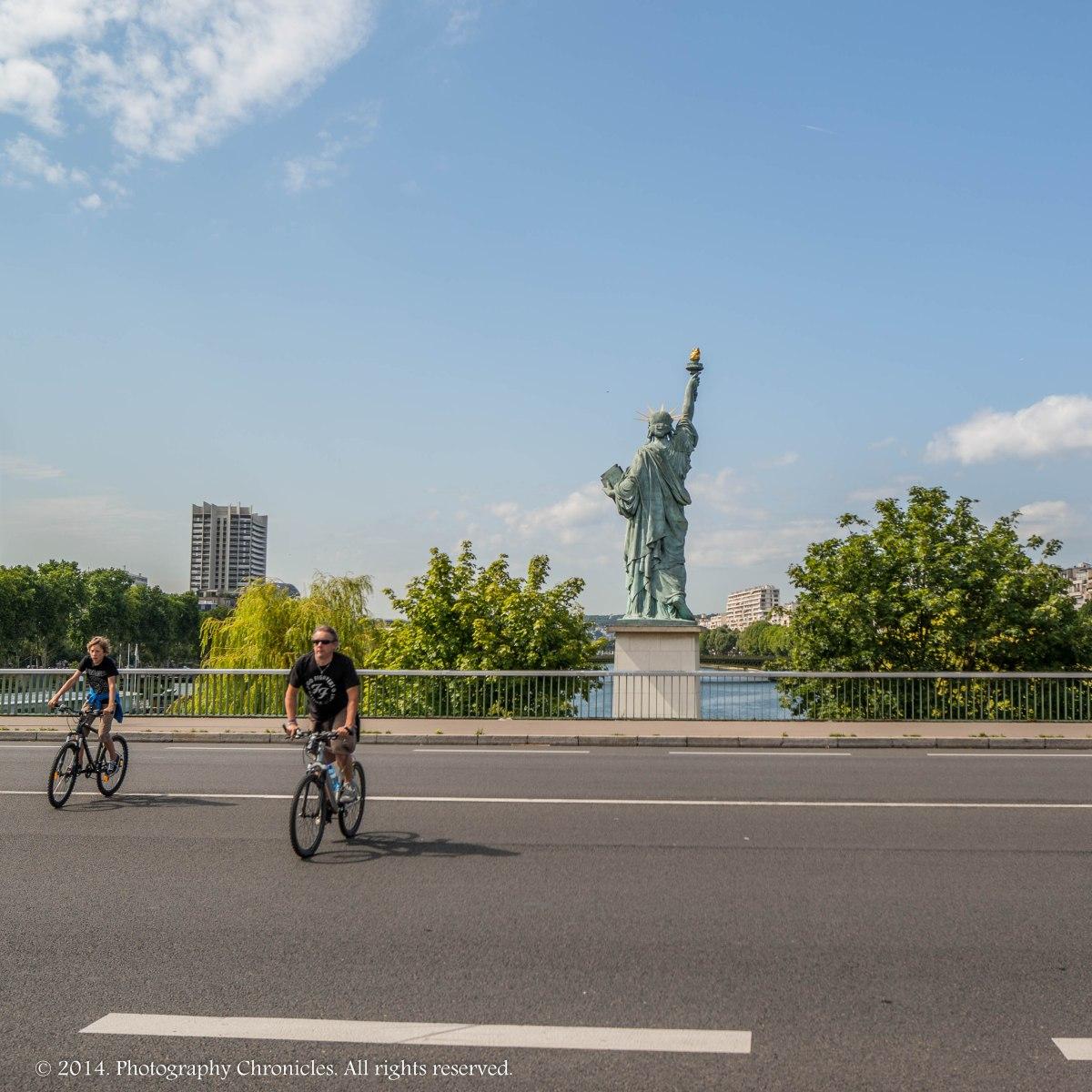 Statue of Liberty Paris variation 4