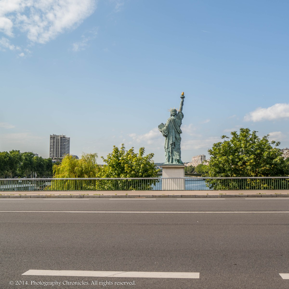 Statue of Liberty Paris variation 5