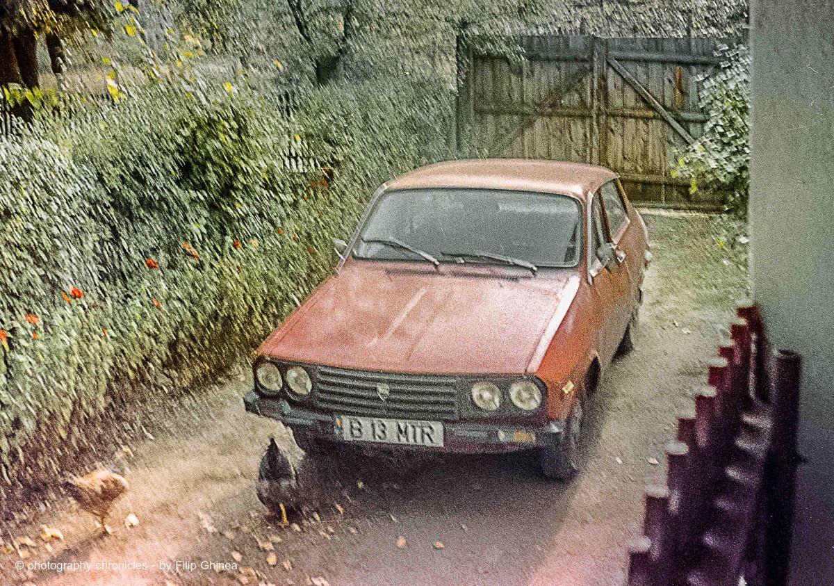 Negative scanning - Dacia 1410 Sport