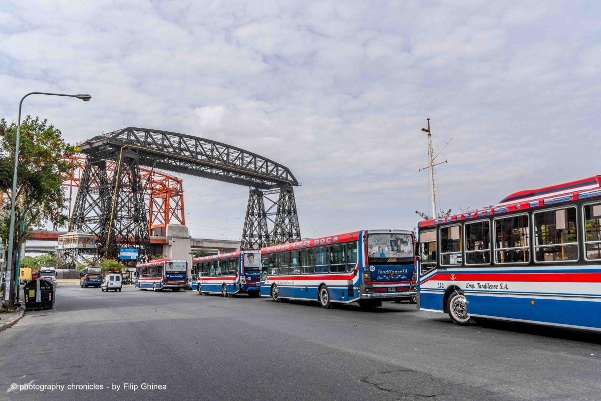Puente Transbordador del Riachuelo - La Boca