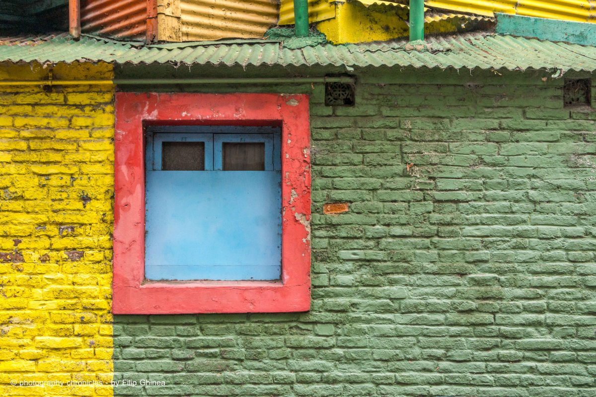 La Boca Neighborhood - Colorful