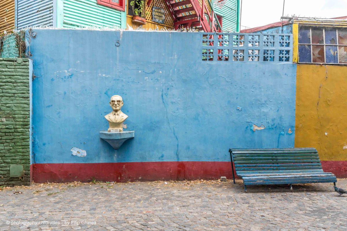 La Boca Neighborhood - Art everywhere