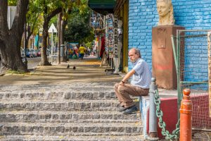 La Boca Neighborhood - A little break